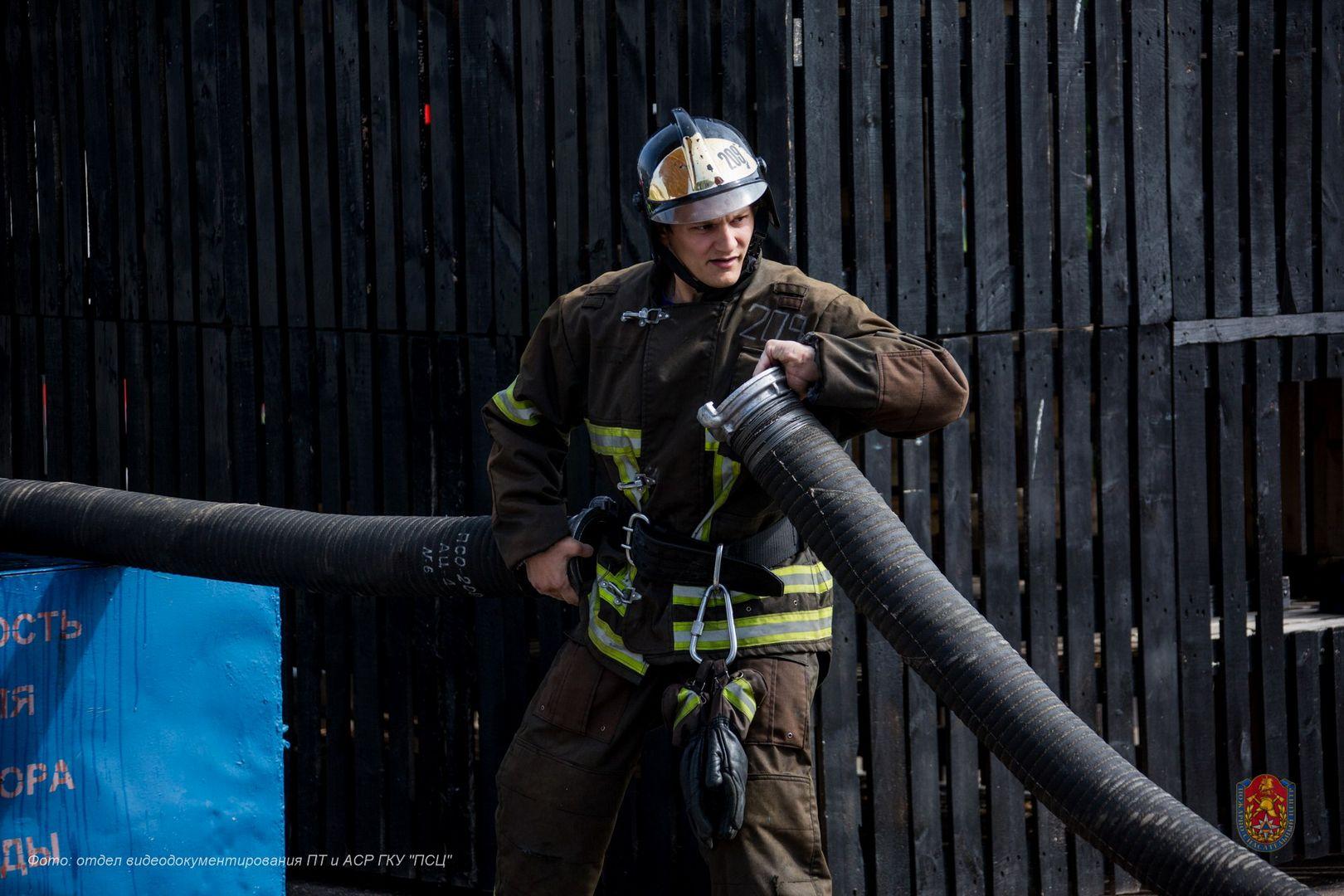 Сергей Игнатов, пожарный-спасатель