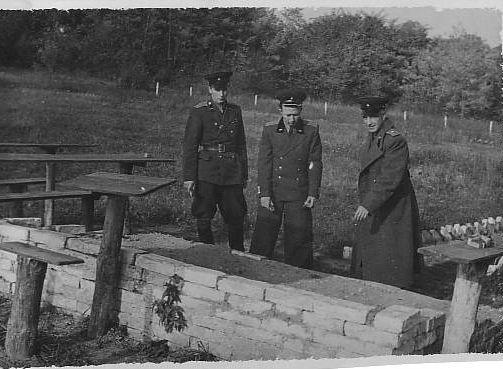 С. А. Бельский На тактических занятиях Калининград, 1950 г