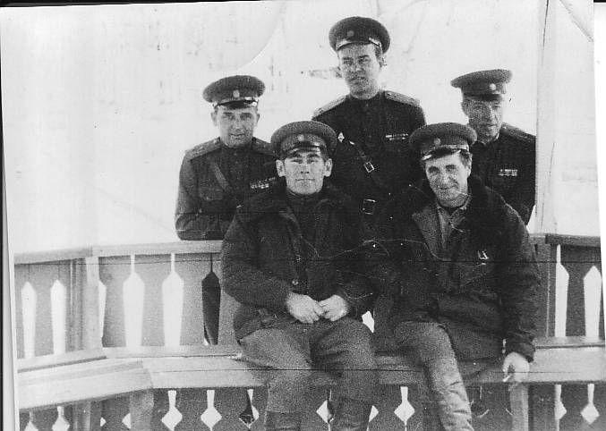 С.А. Бельский  На учениях в ТУРКВО 1961 г