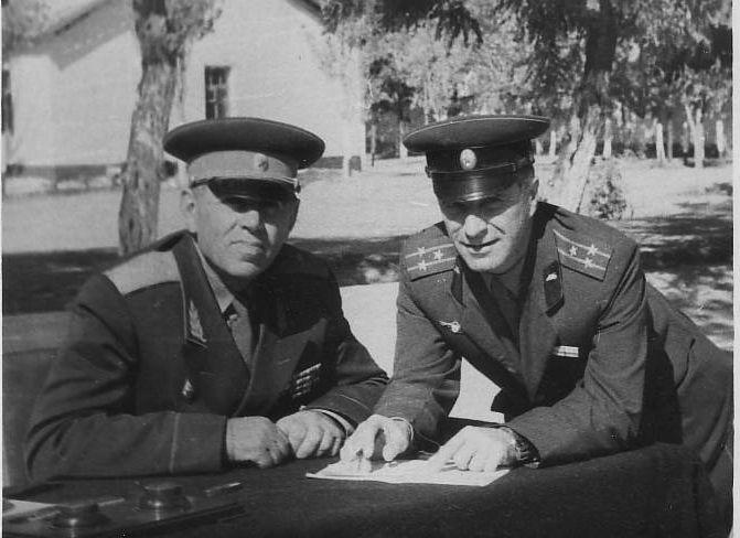 Бельский СА Обсуждение плана учений ТУРКВО 1960 г