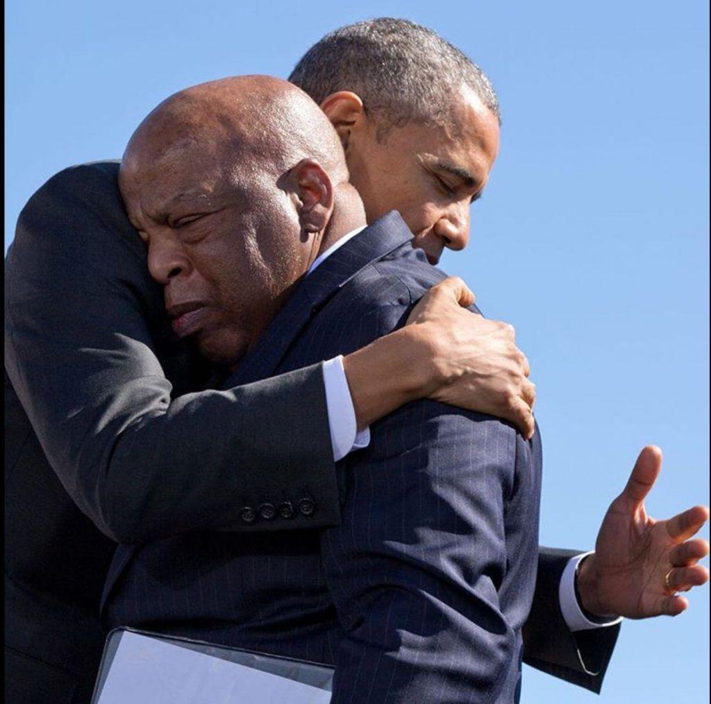 Брак Обама и Джон Льюис