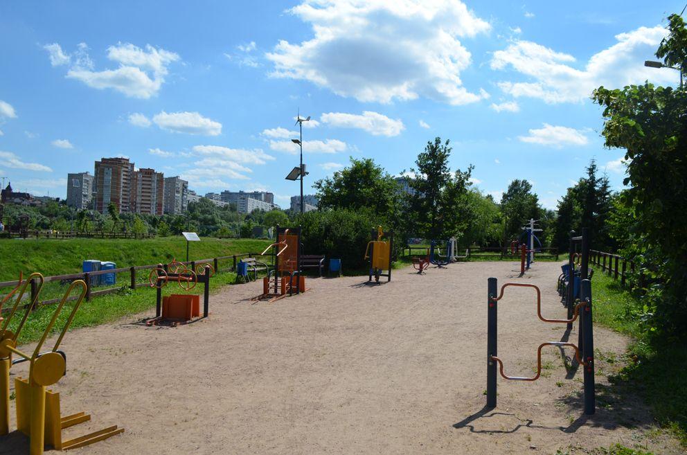 спортивный городок для людей с ограниченными возможностями