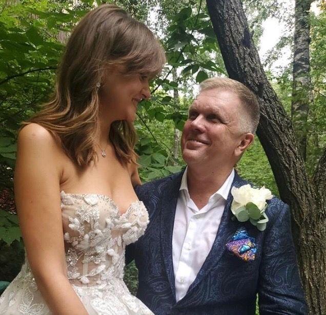 Дарья Донскова и Андрей Колесников