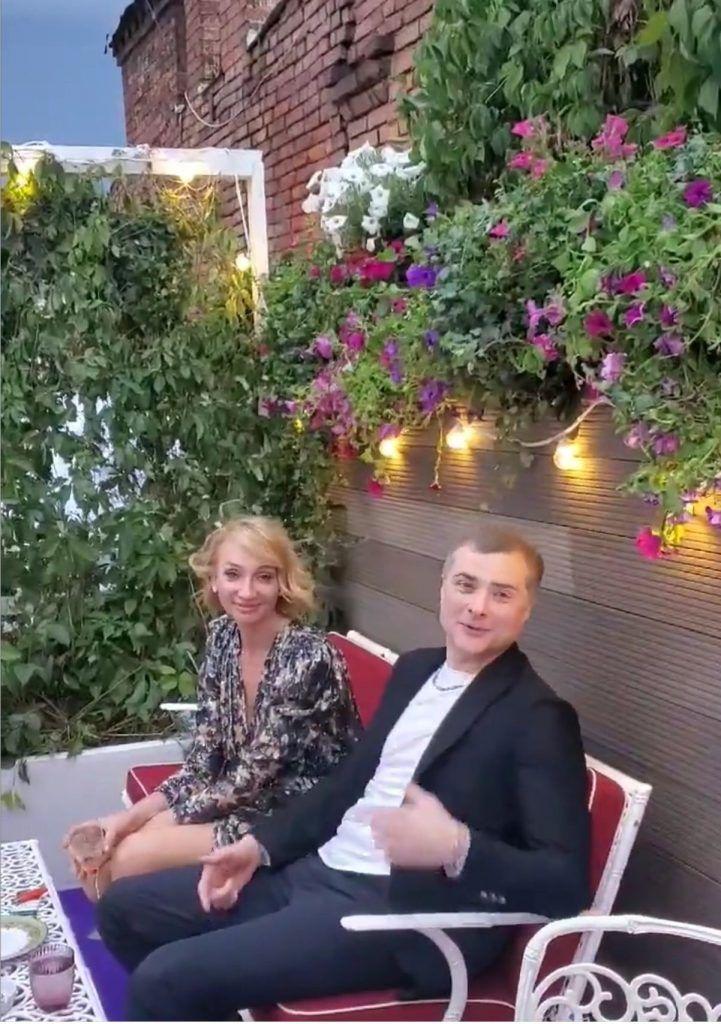 Наталья Дубовицкая и Владислав Сурков