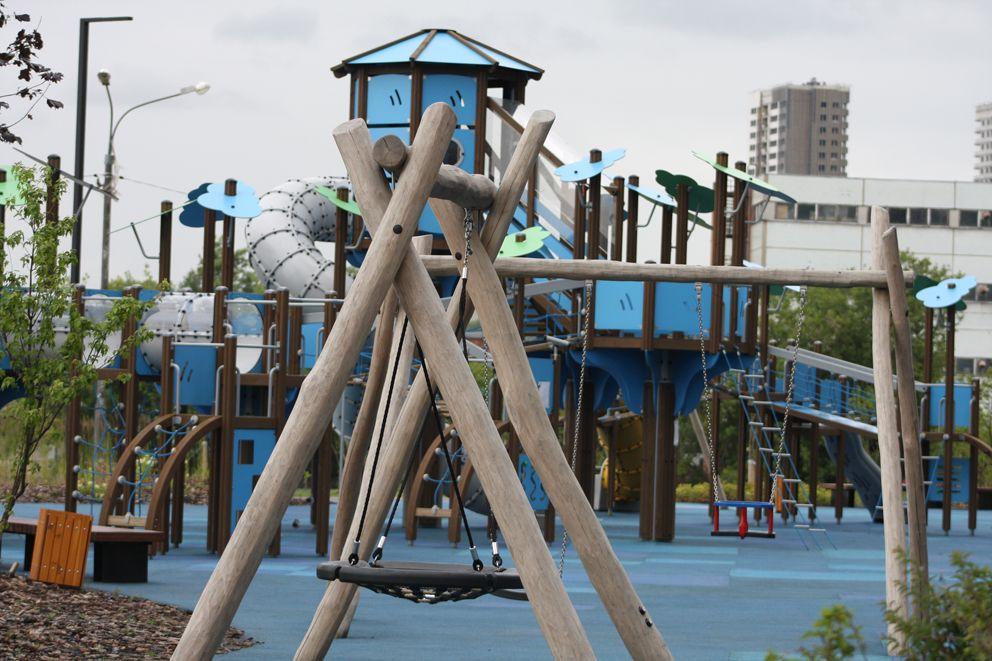 благоустройство Москвы, кабины, работа, детская площадка