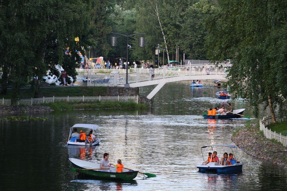 Нижний Лианозовский пруд