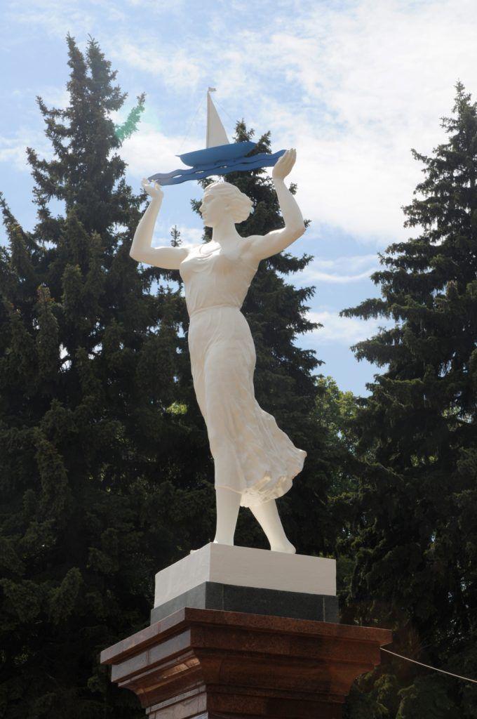 Статуя Водный путь