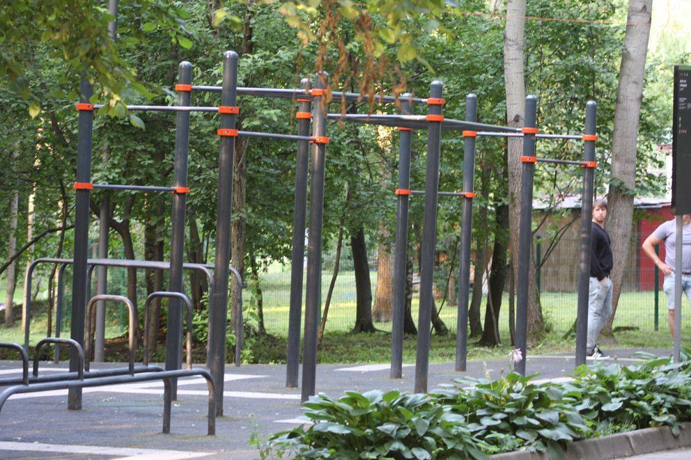 Воркуат площадка для тренировок на свежем воздухе