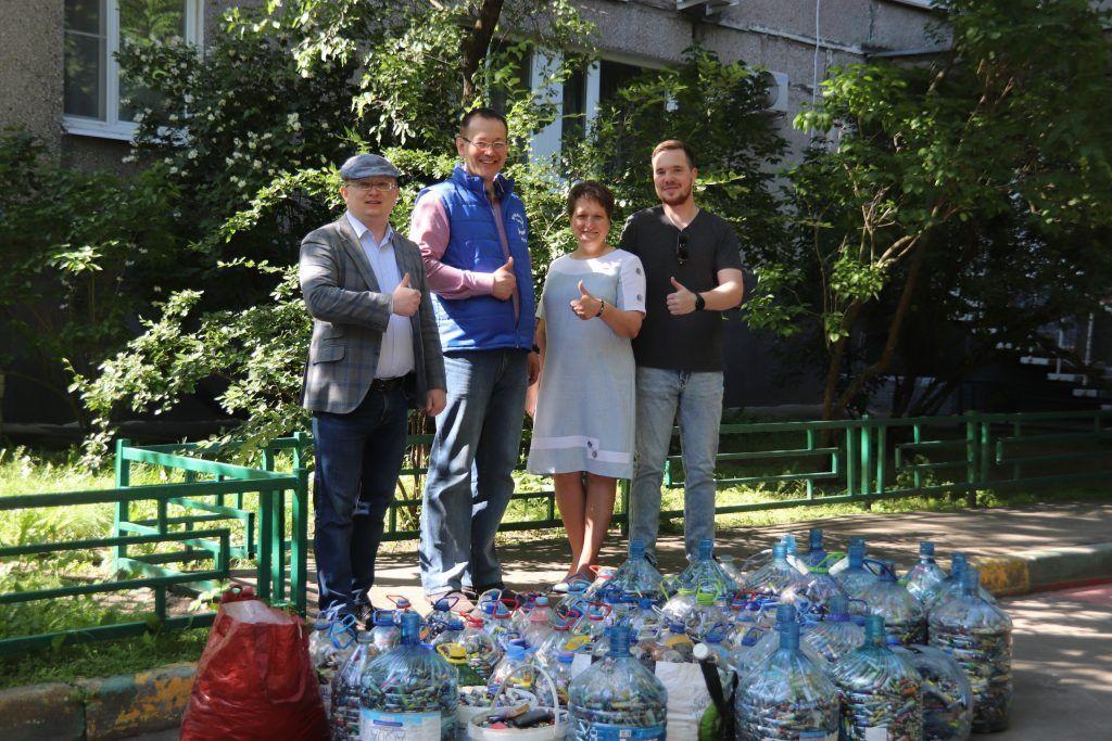 Зеленый город, раздельный сбор мусора