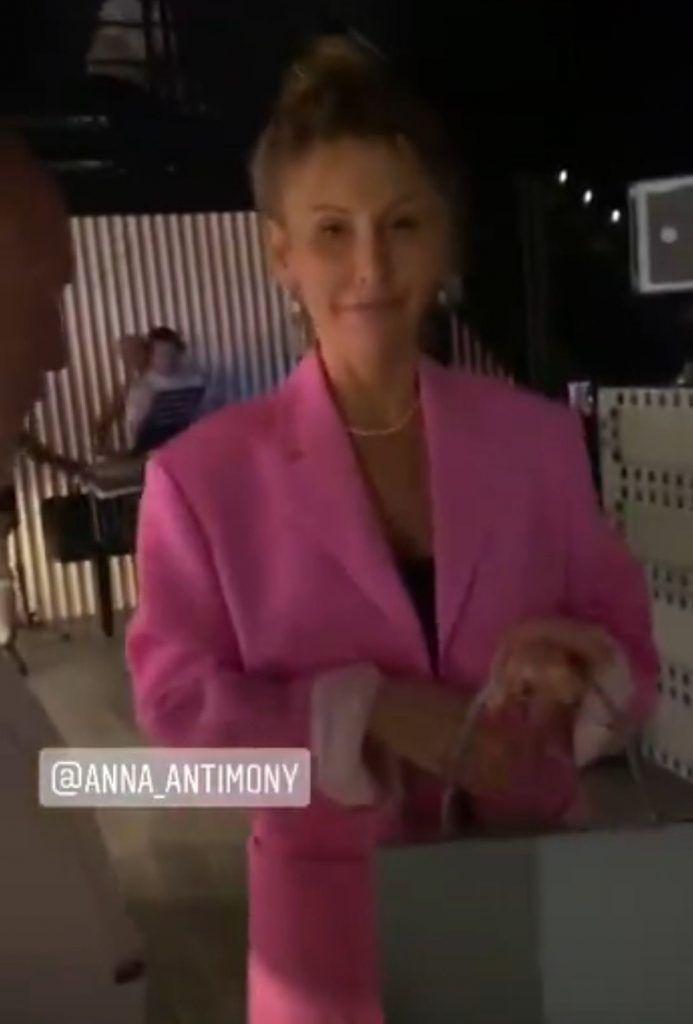 владелица клуба Gazgolder Анна Антимоний