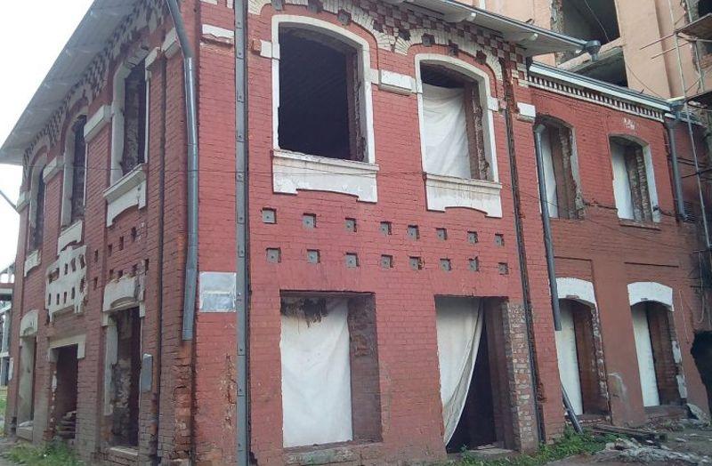 Началась реставрация исторического здания конторы фабрики «Йокиш»
