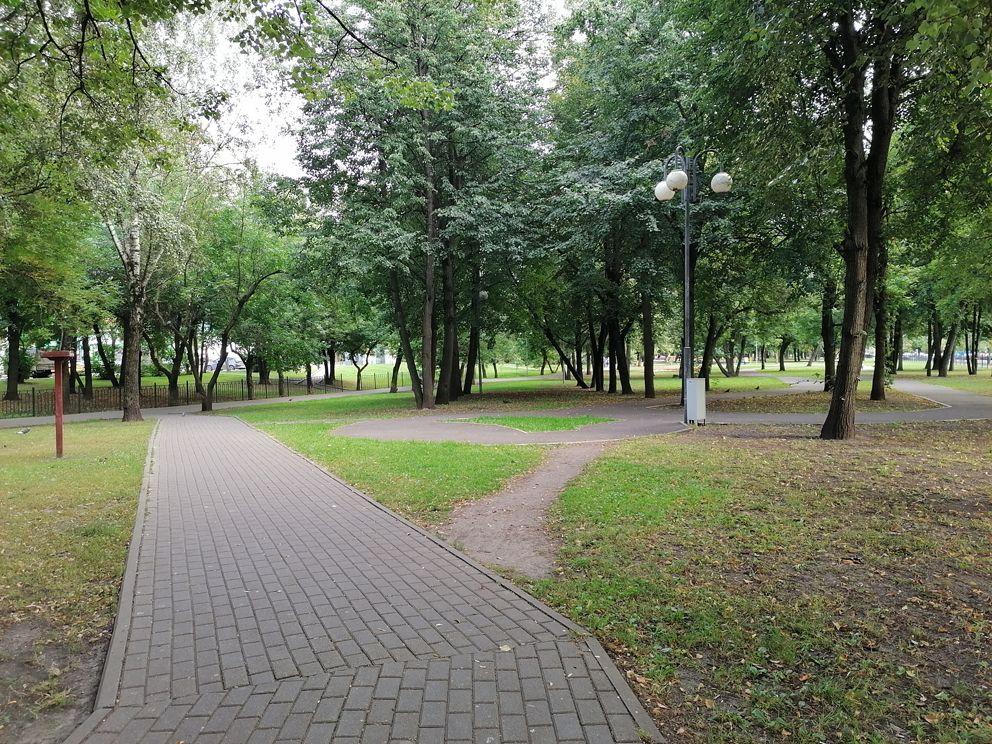сквер Школьный, благоустройство