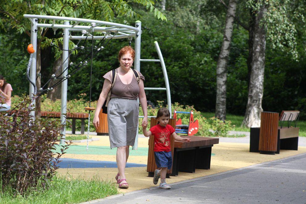 парк Дружбы, Северный речной вокзал, парки Москвы