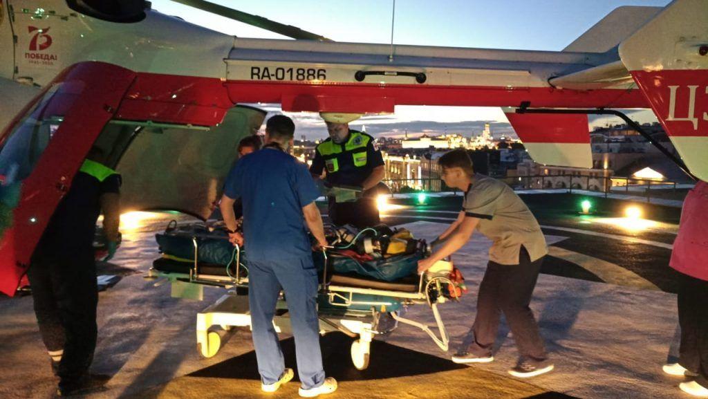 вертолет МАЦ, спасатели