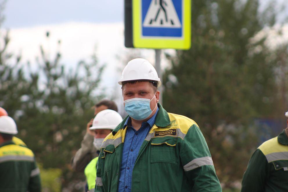Виталий Улинкин, начальника РЭК-4 ГУП «Москоллектор»