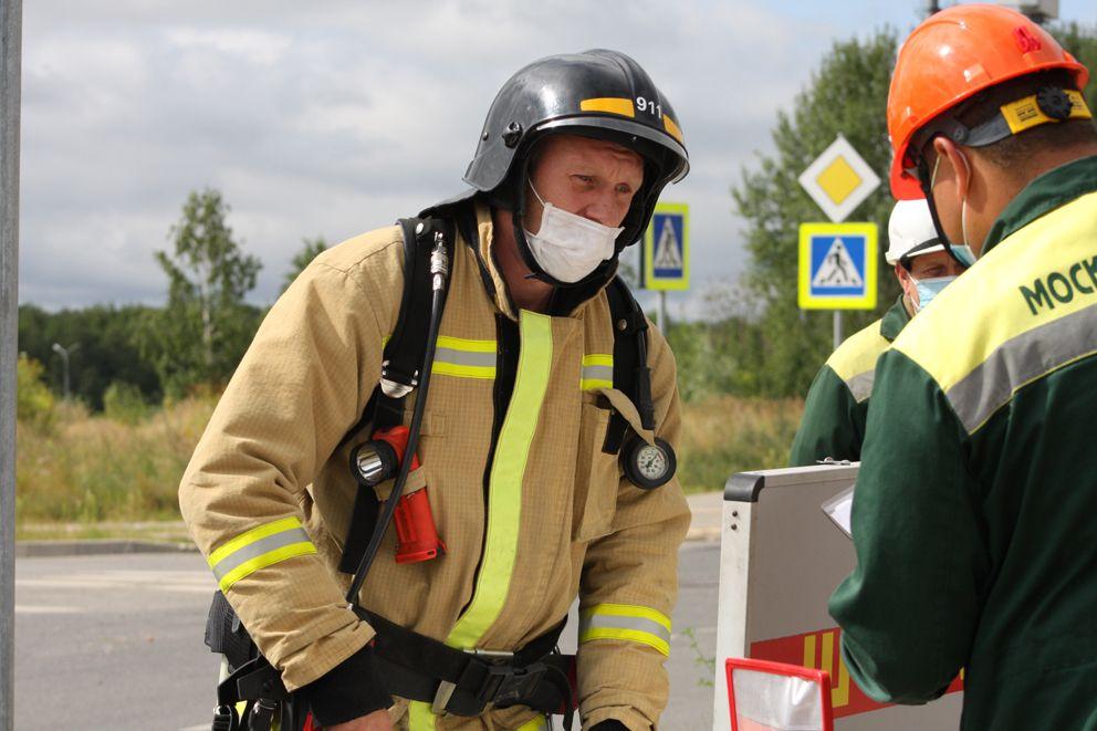 Владимир Амелин, старший расчета частной пожарной охраны ООО «911»
