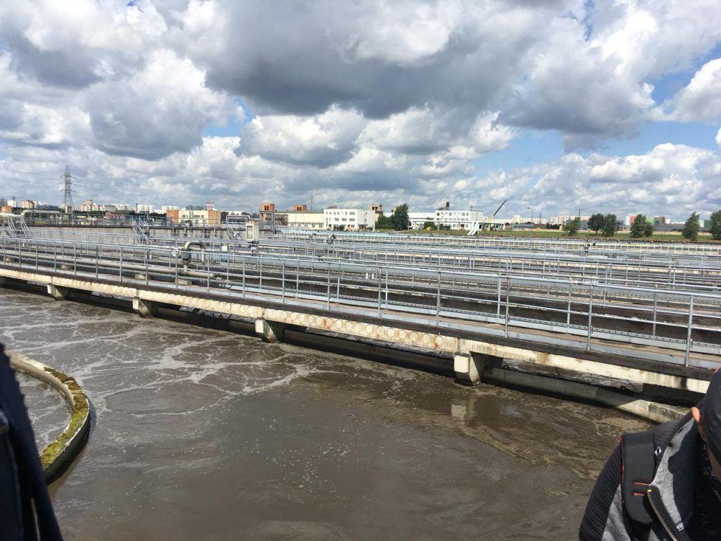 очистные сооружения, вода