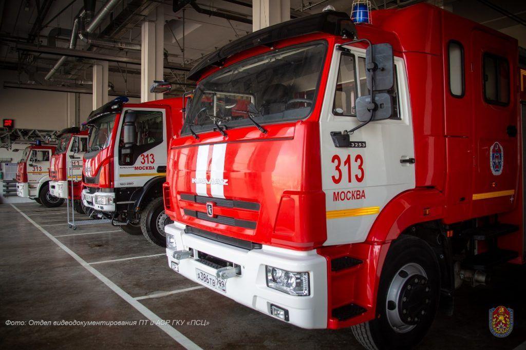 пожарно-спасательный отряд, ТиНАО