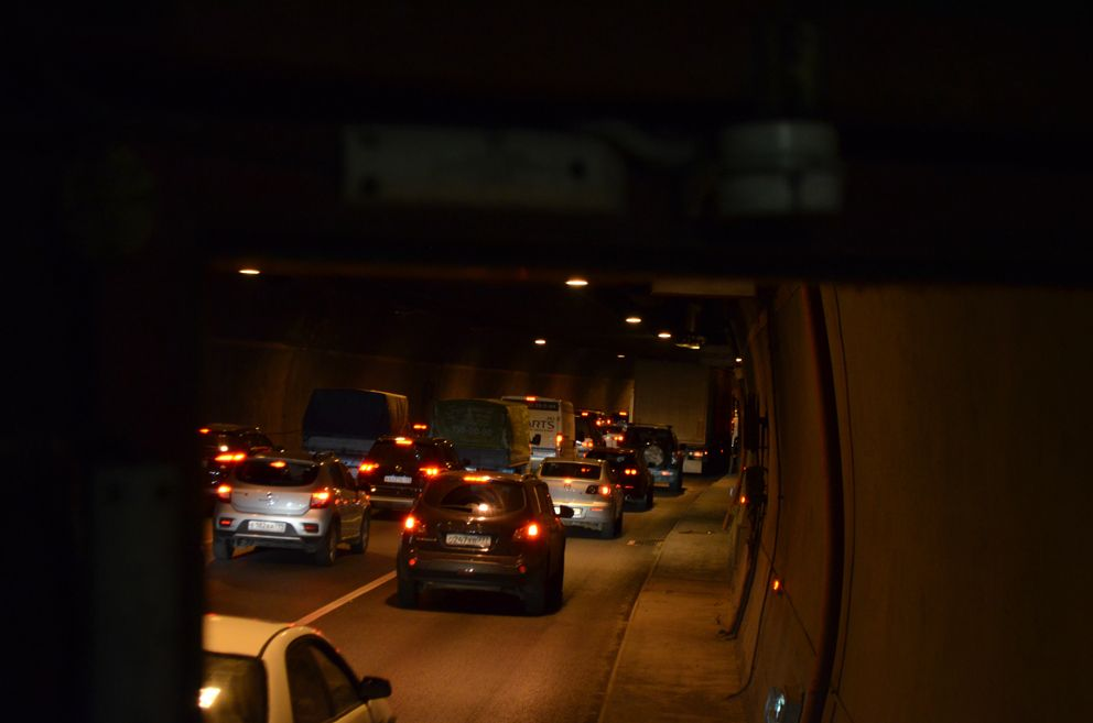 Лефортовский туннель. Общий план