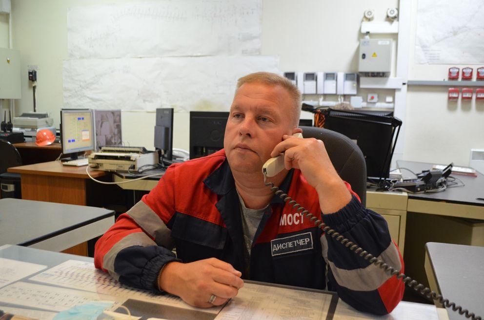Диспетчер ГБУ «Гормост» Сергей Гусев