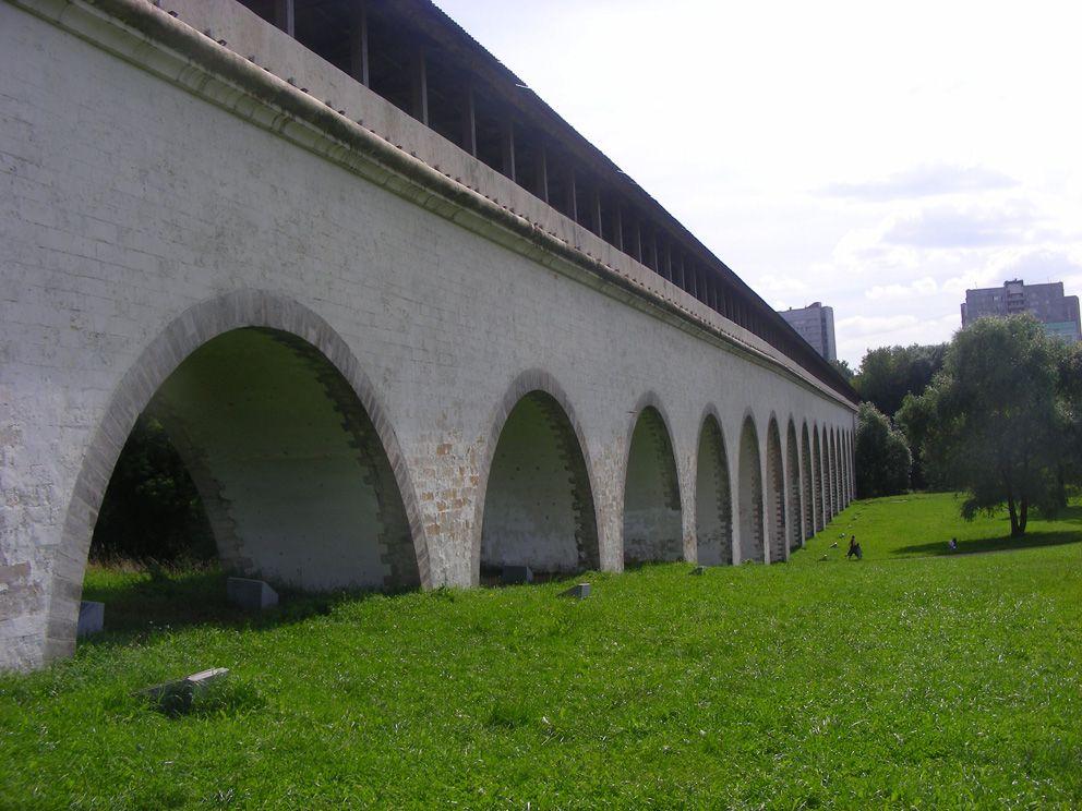 Акаведук  «Ростокино». Исторический памятник архитектуры (1783-1784