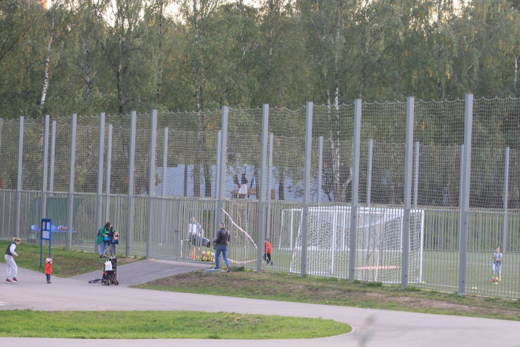 парк Дружбы, спортивная площадка