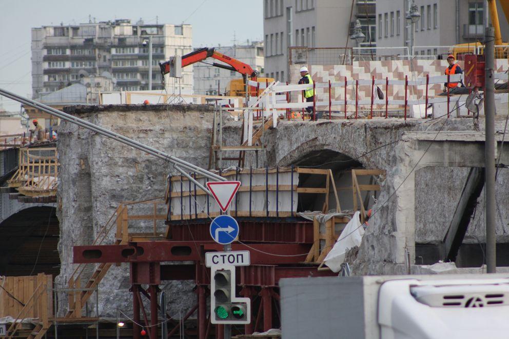 Большой каменный мост, благоустройство, ремонт