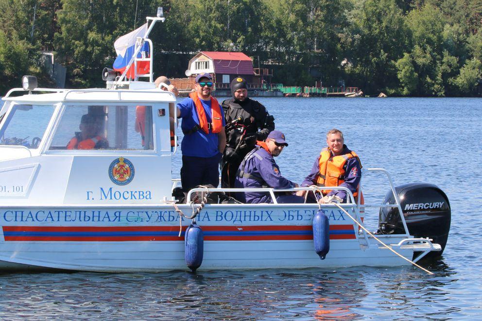 Евгений Герасимович, водолаз, спасатель