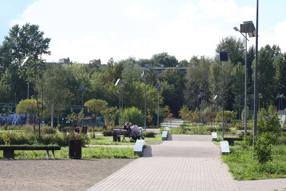 Просторы «Сада здоровья»