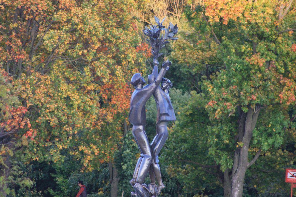 Скульптура Дружба, парк Дружбы