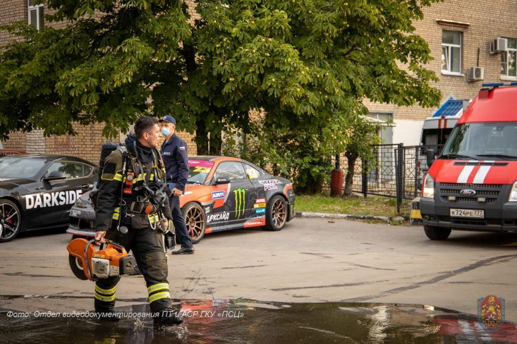 происшествия в Москве, пожар
