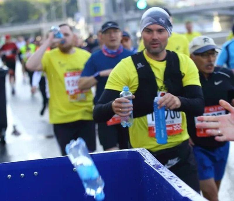 марафон, раздельный сбор