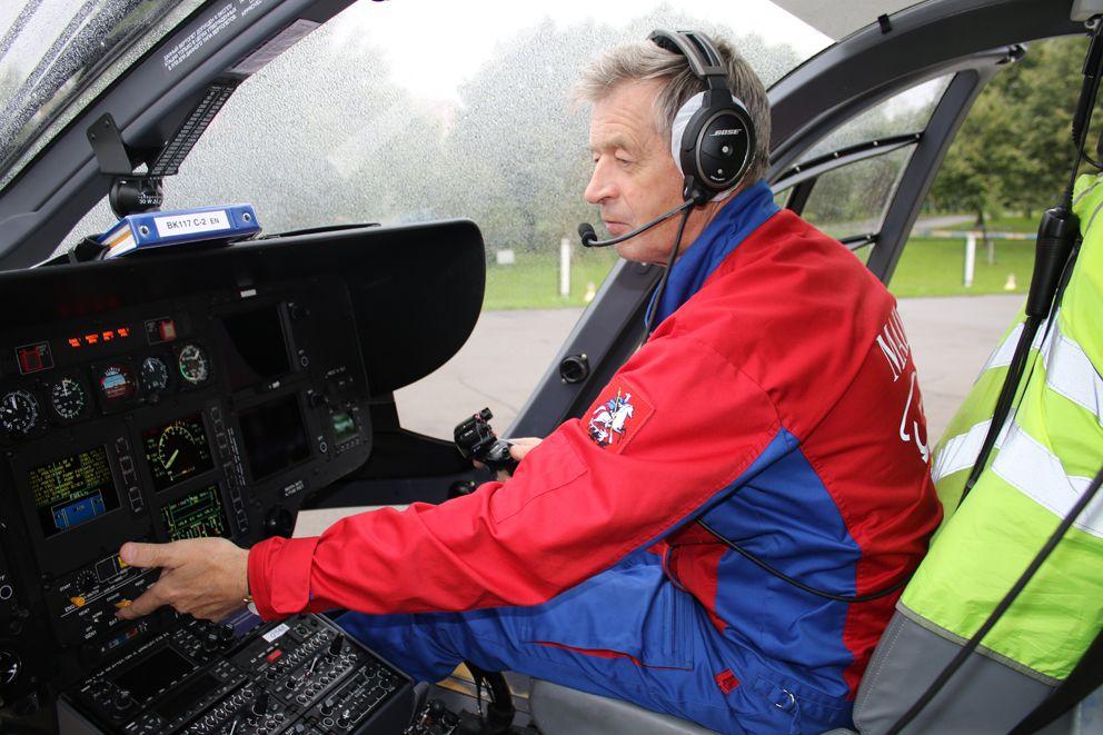 Николай Лачин, вертолет МАЦ