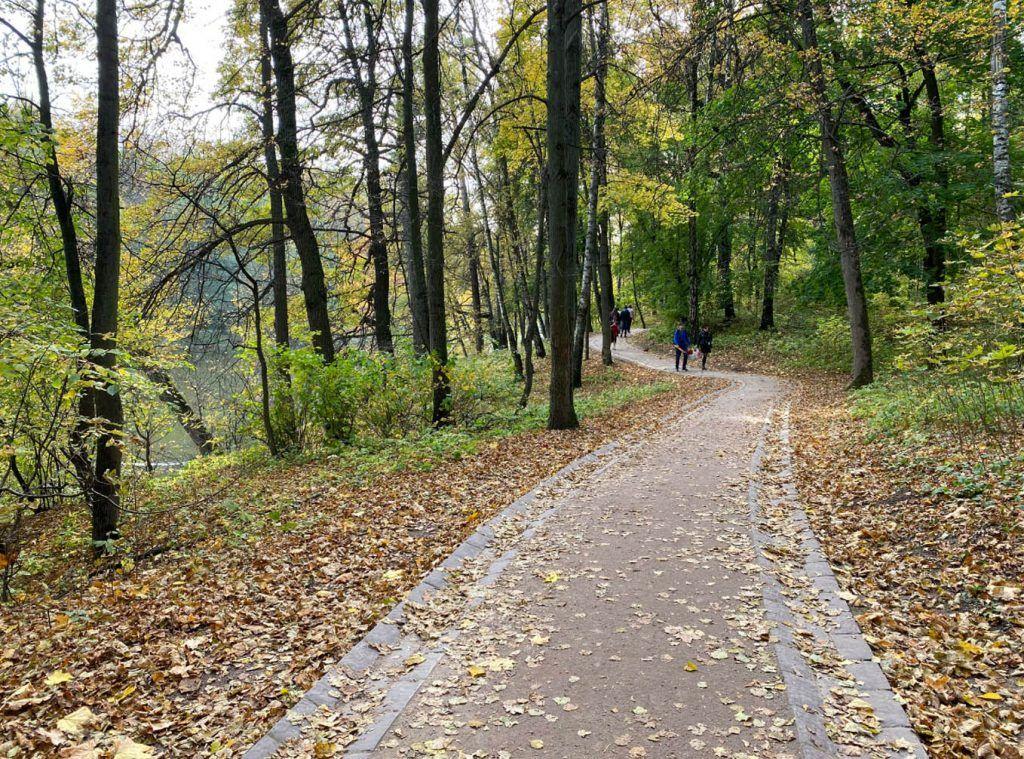 осень в Москве, парк Царыцино