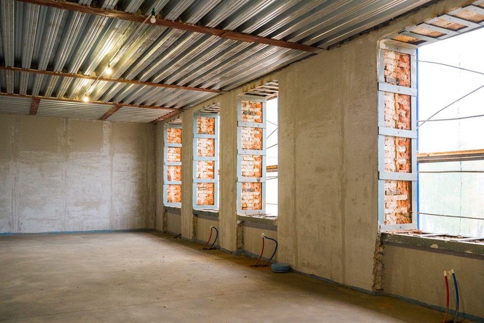 боткинская больница, новые окна, ремонт