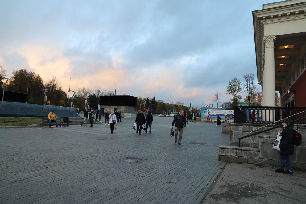стадион Динамо, метро, благоустройство