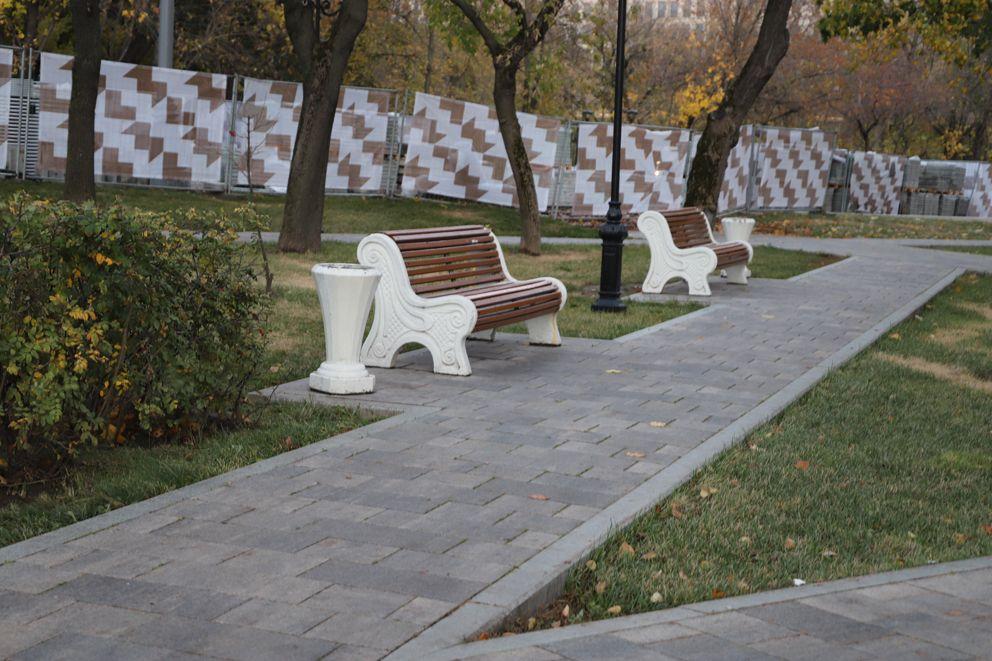 Московская аллея, Аэропорт, благоустройство Москвы, осень в Москве