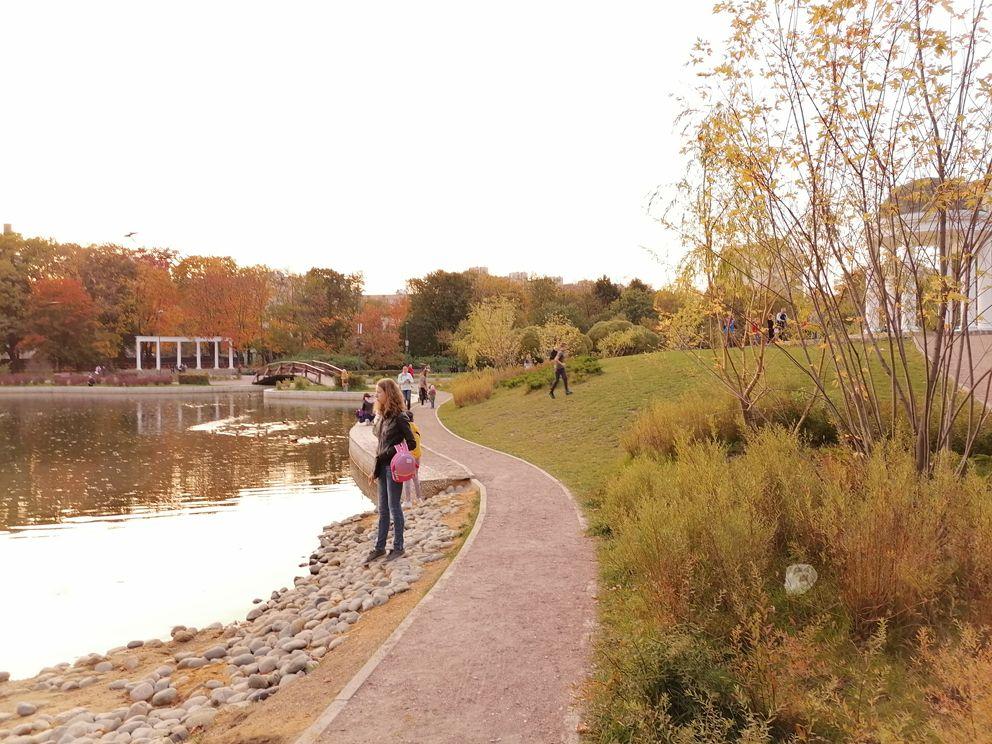 парк Дубки, парки Москвы, благоустройство Москвы, осень в Москве