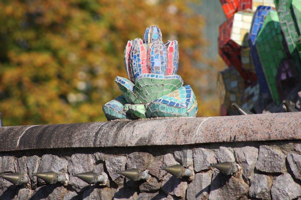 фонтан Каменный цветок, консервация, ВДНХ, ГБУ Гормост