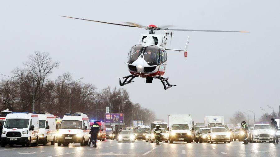 вертолеты МАЦ, праздник