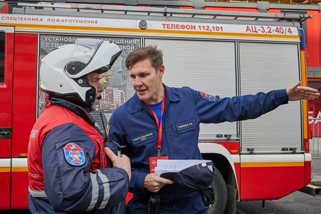 спасатели, пожарные, Александр Голубых