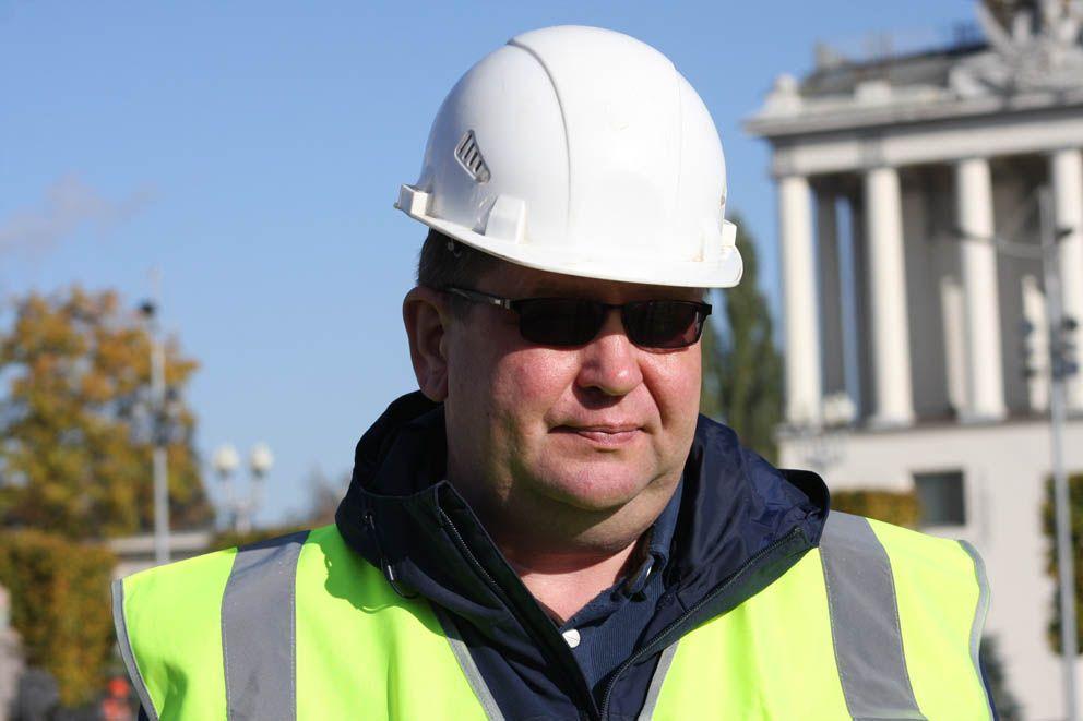 Павел Амельчинков, главный инженер участка ГБУ Гормост -Фонтаны