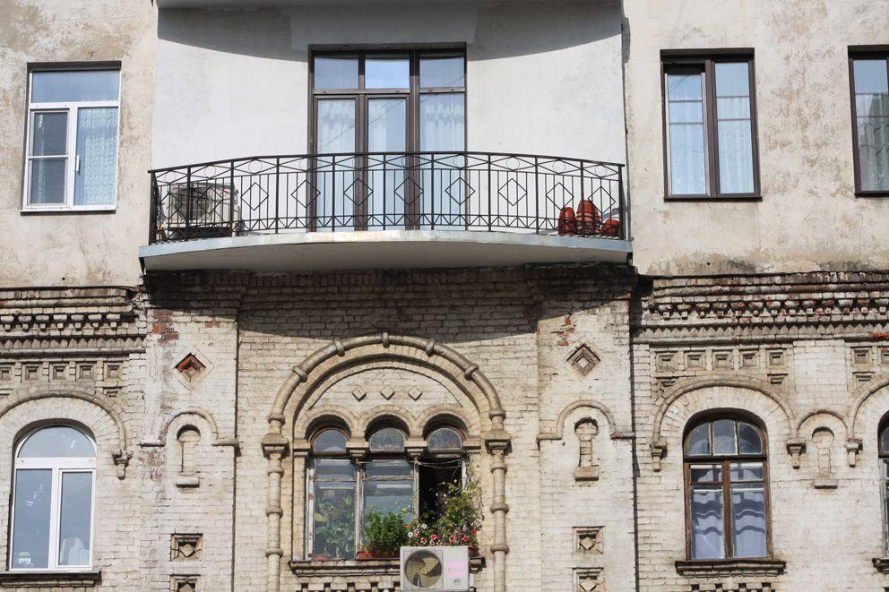 Старинный дом на 2-м Троицком переулке