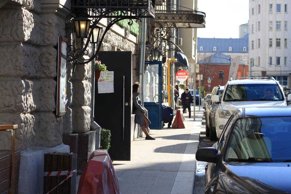 Тротуар на Ананьевском переулке