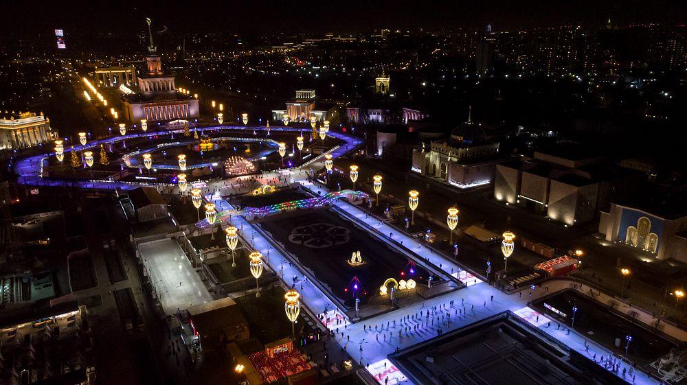 ВДНХ, парки Москвы, каток