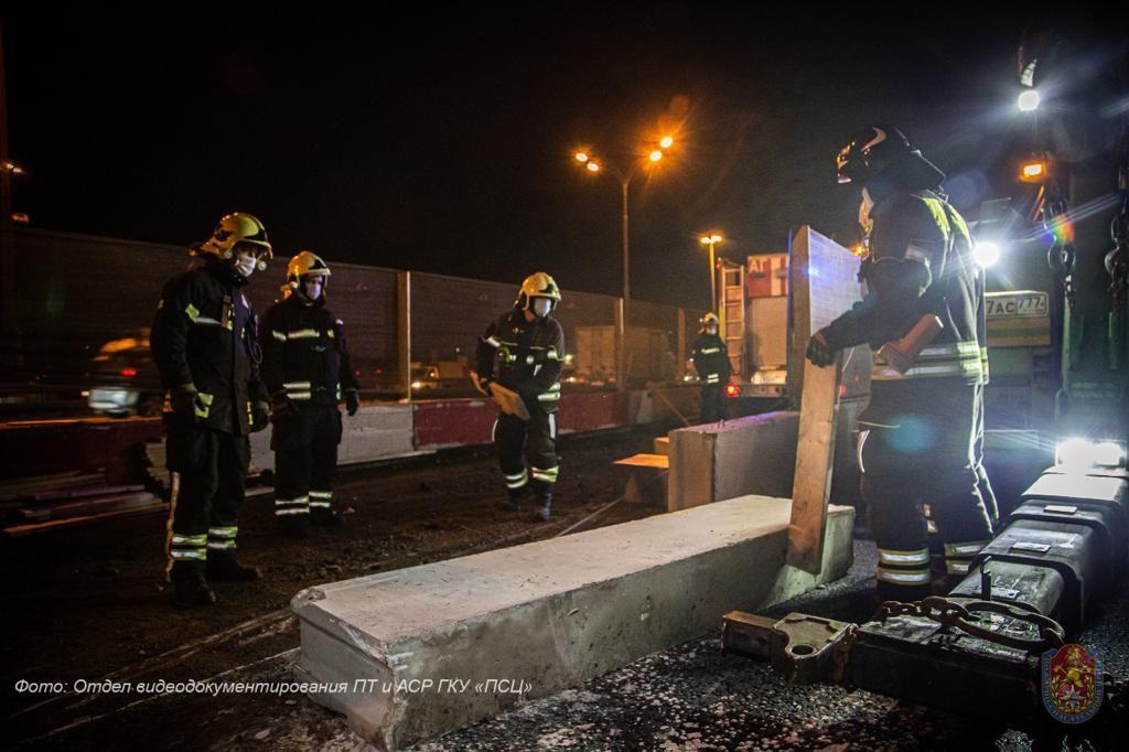 спасатели, происшествия в Москве, ДТП