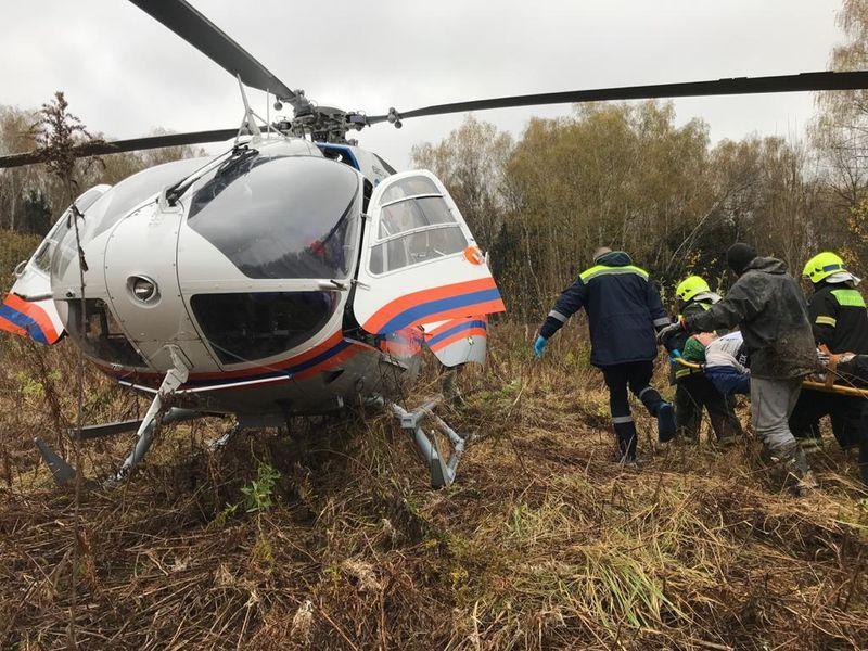 вертолеты МАЦ, происшествия в Москве