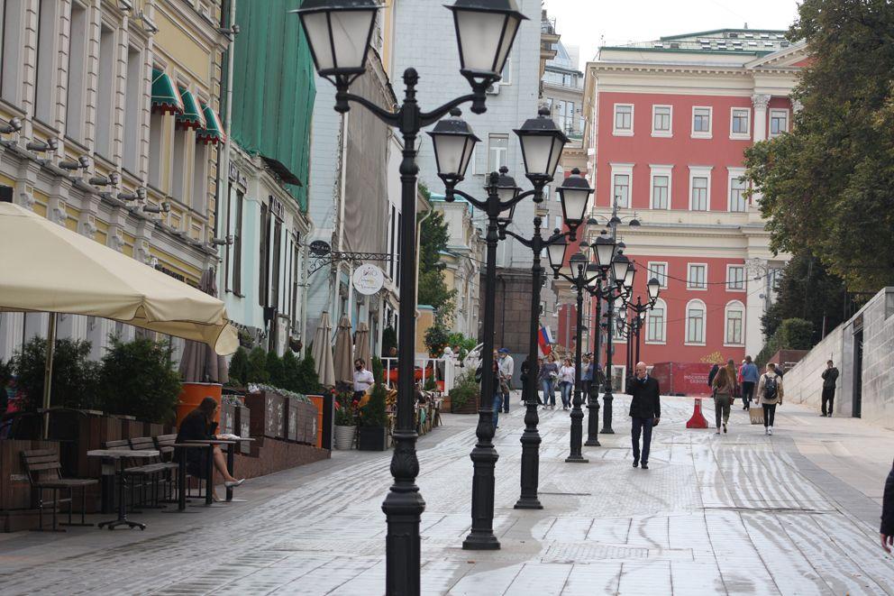Яма находилась на углу Столешникова переулка и Большой Дмитровки