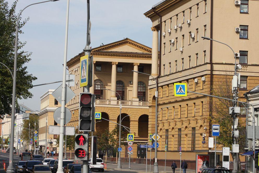 Здание Главного управления МВД России по городу Москве