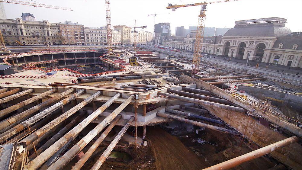 Павелецкая площадь, реконструкция, благоустройство